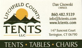 Click to see Litchfield County Tents Details